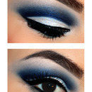 Winter eye make up