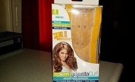 Conair Adjusta Rollers Root Volumizer Demo/Review