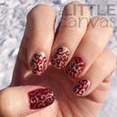 Christmas Glitter Swirls