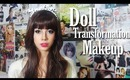 Doll Transformation Makeup