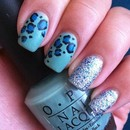 Matte Leopard and Sparkle