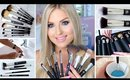 How To Clean Makeup Brushes ♡ NEW xoBeauty Italian Brush Range!