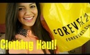 Clothing Haul!: Tilly's, Forever 21, Target & Tobi!