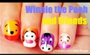 Winner the Pooh and Friends Nails