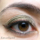Olive Eyes and Bronze Liner