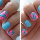 Floral Nails!
