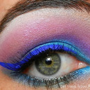 A Bright Pop of Blue Cateye