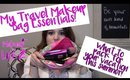 Travel Makeup Bag Essentials: What's in my Travel Makeup Bag!