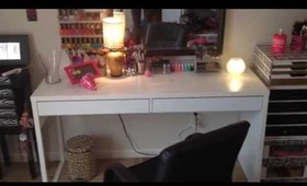 New Vanity Table Micke Ikea desk