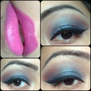 soft blue look