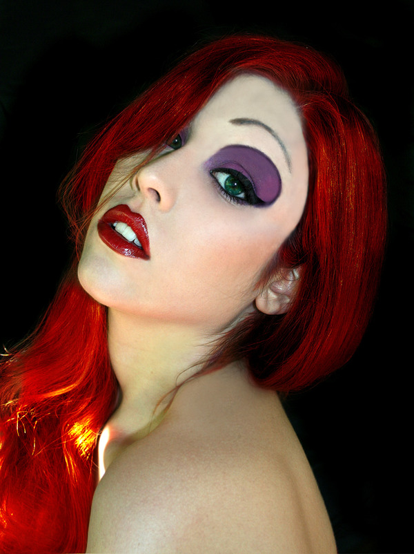 Jessica Rabbit inspired Make-Up | Julia G.\'s (GalanMUA) Photo ...