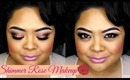 Shimmer Rose Makeup / Get Ready With Me /MAC Cosmetics / villabeauTIFFul