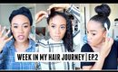 Week In My Hair Journey Ep.2 | Trying Something New