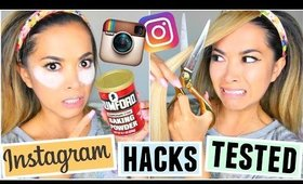 Instagram Beauty Hacks TESTED!