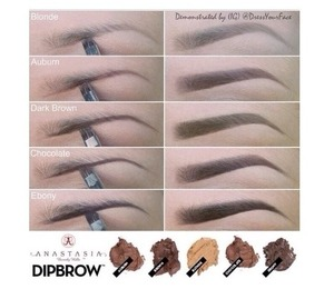 Anastasia dipbrow ash brown