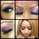 Pink And Purple Glam