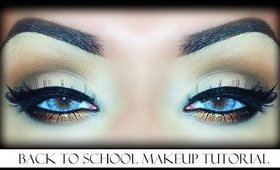 Back to School - Makeup Tutorial (Easy Everyday Look)