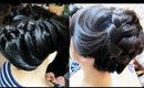 Simple High Crown Braid for Everyday Hairstyle