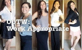 OOTW: Work Appropriate Outfits