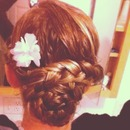 holiaday updo