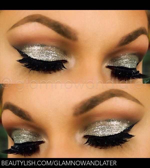 "BH Cosmetics glitter collection in ""platinum"" 