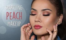 Spring Peach Makeup + Covering Up Acne | Maryam Maquillage