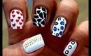 Toothpick nail design for beginners - very Easy Nail designs with toothpick nail Art Designs at home