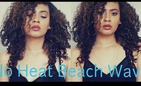 Easy Heatless Beachy Waves (Overnight)