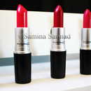 Iconic Red Lipsticks by Mac