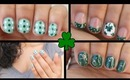 3 EASY St. Patrick's Day Nail Art!!!