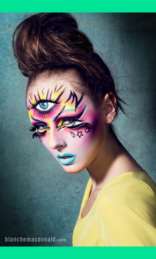 Makeup by Blanche Macdonald