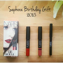 Sephora Birthday Gift 2015