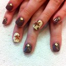 Fall Shellac Nails
