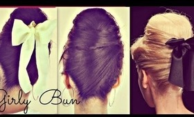 ★GIRLY HAIR BUNS FOR LONG HAIR TUTORIAL| 60s EVERYDAY SOCK BUN HAIRSTYLES & UPDOS FOR PROM WEDDING
