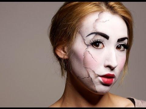 Cracked Doll Makeup Tu...