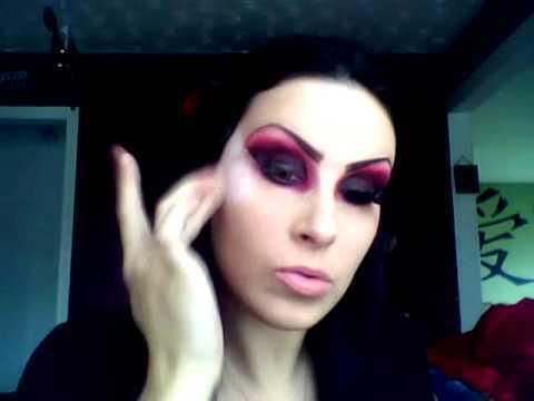 sexy vampire halloween makeup tutorial danalajeunesse. Black Bedroom Furniture Sets. Home Design Ideas
