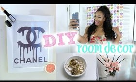 5 DIY Room Decor Ideas! DIY Selfie Back Drop! Tumblr Inspired DIY's Cute, Cheap & Affordable!