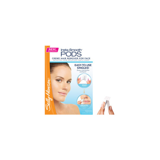 sally hansen creme hair remover kit for face instructions