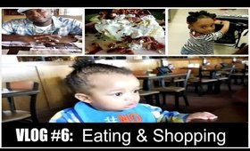 Vlog #6: Eating and Shopping at the Mall