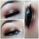 Sultry Bronzy Crunberry Smoky Eye