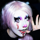 Halloween Makeup - Creepy Cute Clown