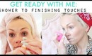 GET READY WITH ME: shower to jewelry!