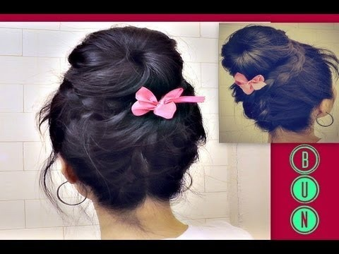 Most Popular Hair Buns Videos Beautylish - Hairstyle bun tutorials