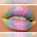 Easter-Inpired Pastel Lips