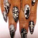 Exorcist Halloween Nails SauceC Nailz