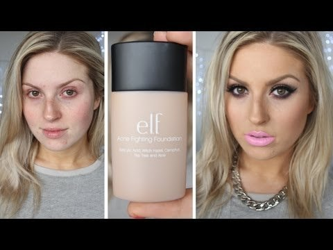 First Impression Review ♡ ELF Studio Acne Fighting ...