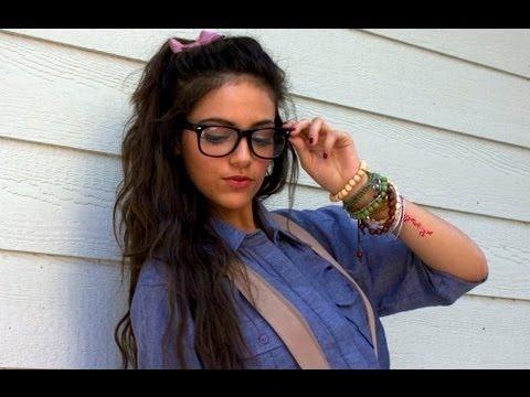 cute nerd halloween tutorial macbarbie07 video beautylish