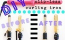 DIY Beauty: How to Make A Clipless Curling Iron