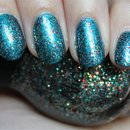 Nicole by OPI Kardashing through the Snow (Layered over Nicole by OPI Deck the Dolls)