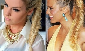 Fishtail Ponytail ~ Hairstyle Idea